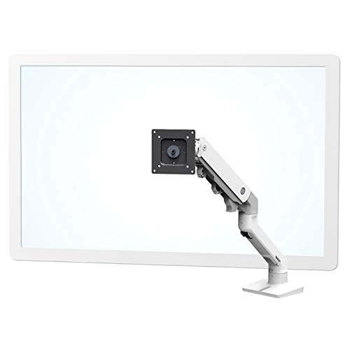 Ergotron – HX Desk Monitor Arm – 25-Inch Extension, White