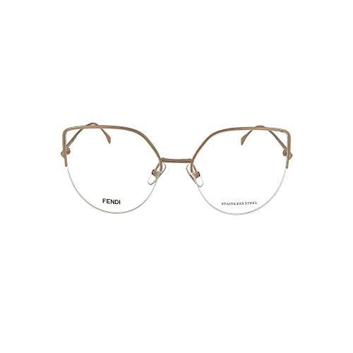 FENDI FF 0423 Gafas, DDB, 55 para Mujer