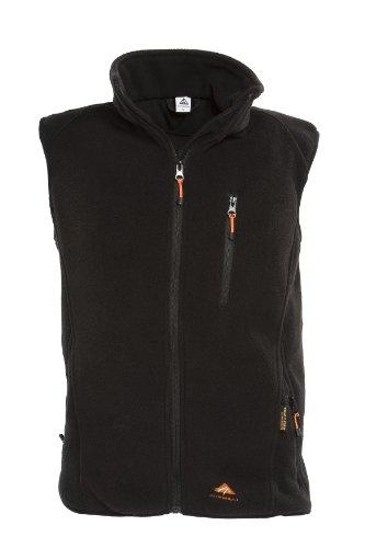 Alpenheat Fire-Fleece schwarz Beheizte Fleece Weste Weste zum Drunterziehen, AJ4G, Größe L