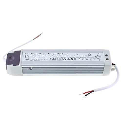 LED Treiber / Netzteil 25-42V DC; 900mA; dimmbar über Phasenanschnitt / Phasenabschnitt; Konstantstrom LED Treiber; für LED Panele; PWM