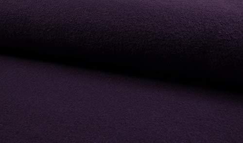 Fabrics-City Violett - Tela de Lana Virgen (620 g, 5050)