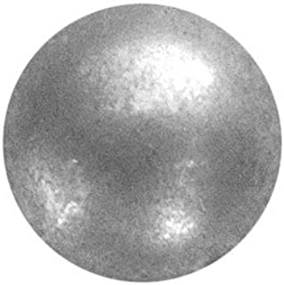 B.C. Upholstery Decorative Nails - CS No. 6986-ZPM 5/8 - Zinc Plated Matte Pewter - Low Domed - 5/8 D x 5/8 L (250 Count)