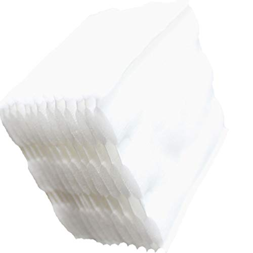 Guangcailun 100pcs de Tres Capas para Quitar Maquillaje Almohadillas de algodón húmedo Suave cojín de Suministros de Lavado Facial