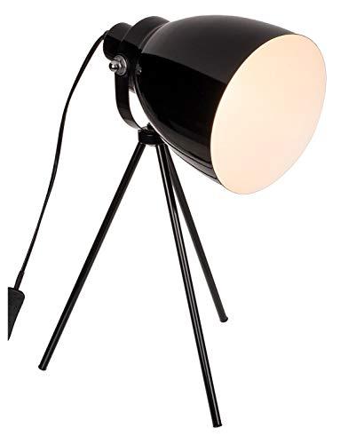 ootb 57/3034 Lampe de Table Noir IX, métal, 42 cm