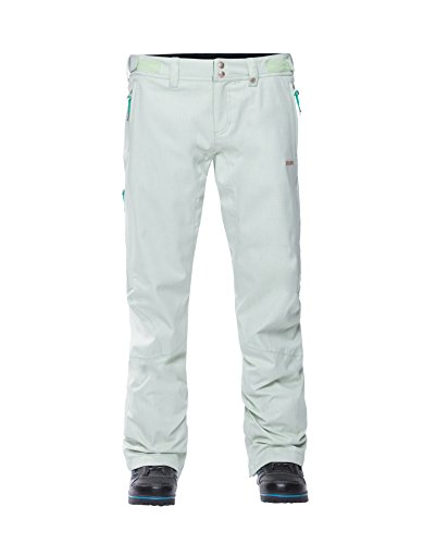 Zimtstern Damen Snow Pants Shear Mirage Women, Gumdrop Green, S