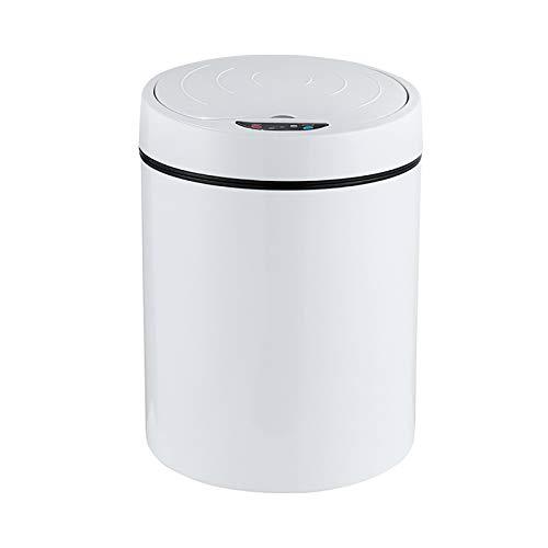 Sensor Smart Sensor Puede, PLÁSTICA PLÁSTICA PLÁCTICA PUBLICA DE PUBLICA DE PUBLICA DE PUBLICA Abierta, Adecuado para Baño, Sala De Estar, Oficina Y Cocina Contenedores De Basura,B