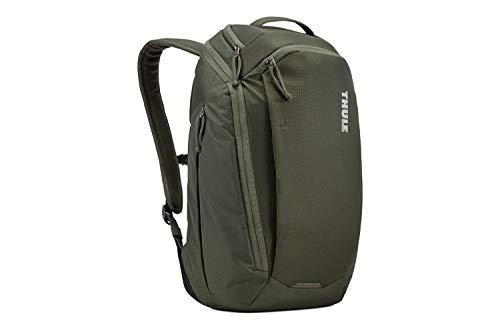 Thule EnRoute 23 L Zaino in Nylon, per Laptop da 15.6  e un Tablet da 10 , Verde