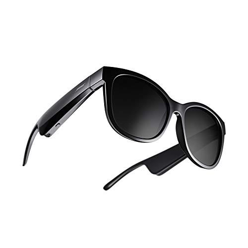Bose Frames Soprano–Lunettes de Soleil Audio Bluetooth avec Verres Polarisés à Monture Papillon–Noir