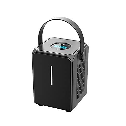 Mini Compresor De Aire Portátil 12V 120 PSI, Inflador De Neumáticos, Bomba Eléctrica Automática Con Luz LED Brillante Para Neumático De Coche, Bomba De Aire Para Motocicleta