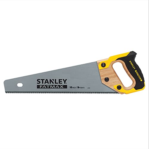 STANLEY FATMAX Hand Saw, 15-Inch (20-045)