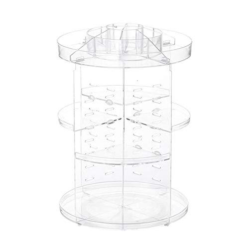 Weimay 1Pcs 360 Grad drehbare Aufbewahrungsbox für Kosmetika, 23 * 33,5 cm, Kunststoff