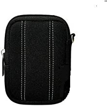 Fujifilm Neoprene Cushioned Compact Camera Pouch for T350, AX550, Z90, JX500, and more (Black)