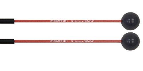 マレテック Malletech グロッケン・マレット オーケストラシリーズ 【ORMG41】 ハンドル:レッド・ファイバーグラス ヘッド:グレーボール
