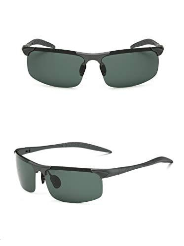 thematys Gafas de sol para hombre y mujer polarizadas - Gafas de sol deportivas UV400 perfectas para ciclismo, motocicleta, pesca, carrera y deportes en general (Style 2)