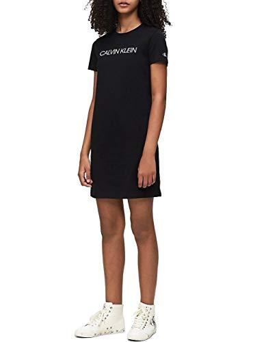 Calvin Klein meisje jurk Ig0ig00468 steriele Bae CK Black