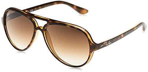 Ray Ban Unisex Sonnenbrille Aviator, Gr. Large (Herstellergröße: 58), Gold (gold 001/57)