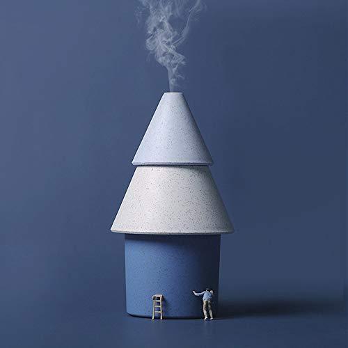 YongFeng Park sauerstoff lebensbaum luftbefeuchter USB minimalistischen Stil Mini Portable ins Weihnachtsbaum Home Office luftbefeuchter JF (Color : Blue)