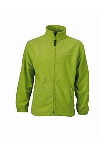 2Store24 Full-Zip Fleece in Lime-Green Size: 4XL