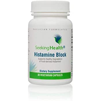 Seeking Health | Histamine Block | DAO Supplement Enzyme | Food Intolerance | Histamine Intolerance | GI Tract Supplements | Dhist 60 Capsules