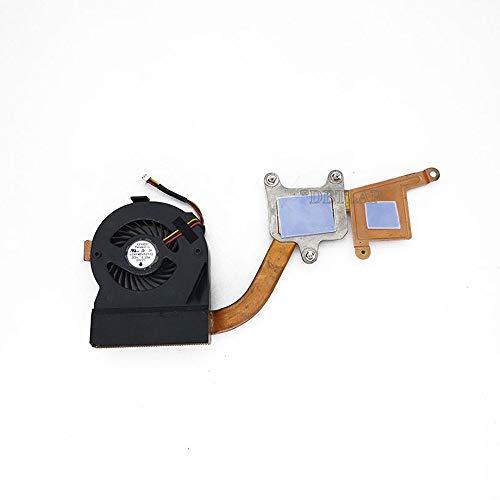 DBTLAP Ventilador de la CPU del Ordenador portátil para IBM Lenovo Thinkpad X201 X201I + Heatsink 60Y5422 Ventilador más Fresco