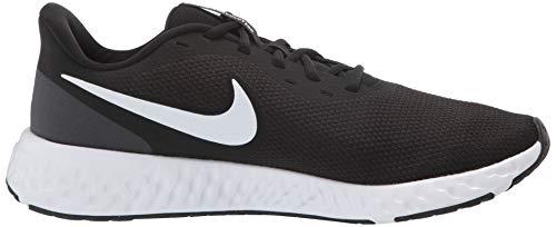 Nike Men's Revolution 5 Wide Running Shoe, Black/White-Anthracite, 8.5 4E US 7