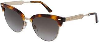 غوتشي نظارة شمسية عين القطة للنساء - رمادي، GG0055S-002-55