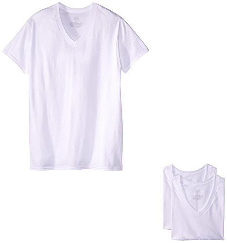 Fruit of the Loom 2525VM Camiseta para Hombre, color Blanco, XL (paquete de 3)