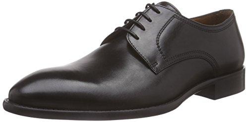 Lottusse L6555-00501-01, Zapatos de Cordones Derby Hombre, Negro Lond Old Negro, 45.5...