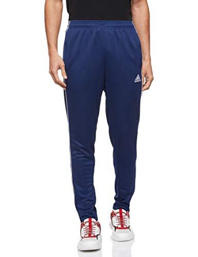 Adidas Core 18 Sc, Pantaloni da Allenamento Uomo, Blu (Dark Blue/White), XL