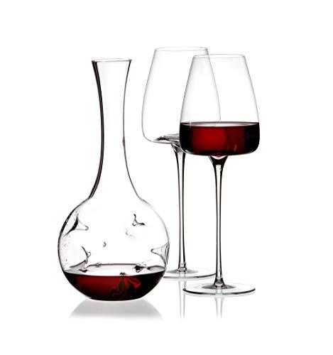 Set decantador de vino con 2 copas 'Eddy-mini' Vision