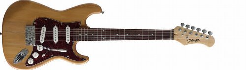 Stagg S300 3/4 NS Guitare électrique type Strat. Taille 3/4...