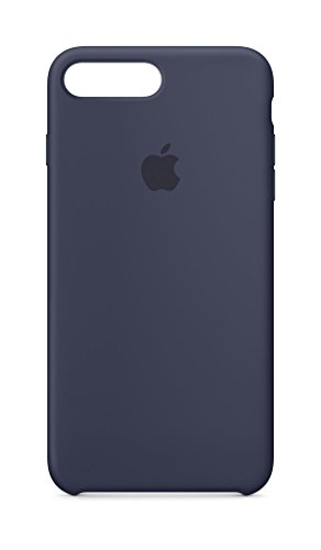 Apple Silicone Case (for iPhone 8 Plus / iPhone 7 Plus) - Midnight Blue