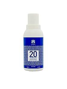 Válquer Profesional Oxidante en Crema 20 Vol (6%), Agua oxigenada para tintes, Coloración capilar permanente - 75 ml