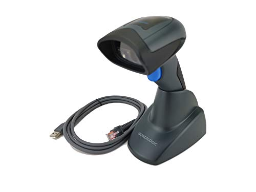 Datalogic QuickScan QD2430 Handheld 2D Barcode Scanner, Includes Base Stand (Autosense) and USB Cable barcode Datalogic scanner