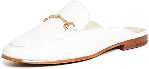 Sam Edelman Linnie - Pantofole da Donna, Bianco (Bianco), 42.5 EU