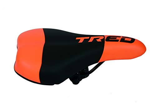 Tred Bicycle Complete Saddle (MTB) (Fluorescent Orange Black)