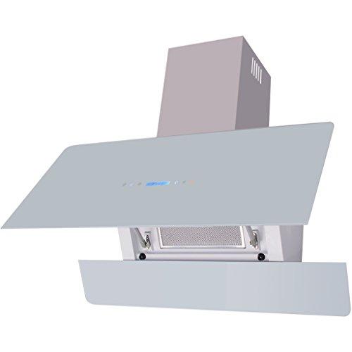 vidaXL Afzuigkap met Aanraakscherm Wit Afzuigkappen Keuken Afzuig Kap Afzuiger