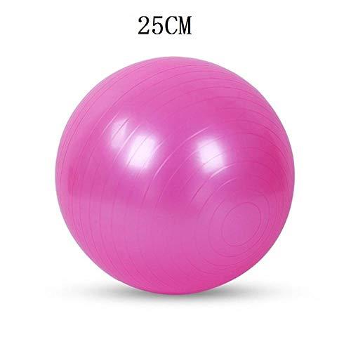 YSCYLY Sitzball Gymnastikball,25cm/45cm/65cm/75cm/85cm Sport Yoga Bälle,FüR Geburt RüCkbildung Beckenbodentraining & Fitness Anti-Burst