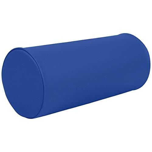 Sport-Tec Lagerungsrolle Lagerungskissen Knierolle Fitnessrolle für Massageliege 22x50 cm