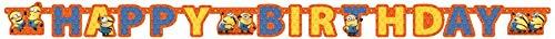 Amscan International - Guirnalda para fiestas con diseño Minions (997977)