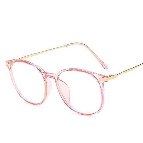De Luz Azul Gafas 3 unids anti azules rayos gafas hombres mujeres gafas de juego gafas bloqueo de gafas resistente a la radiación gafas de lectura Gafas Para Juegos (Frame Color : Pink)