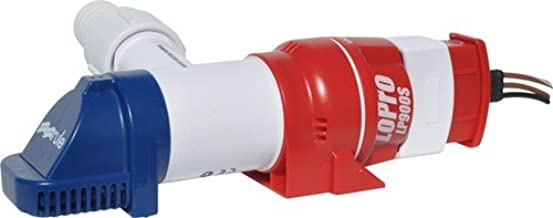 Rule LoPro Series Bilge Pumps, Compact, Horizontal or Vertical Mounting, 360 Degree Discharge