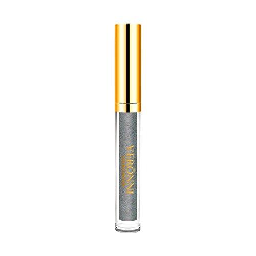 Auifor 10 kleuren Womens Magic Glitter Flip Lippenstift Flip Pull Matte Pearl Lip Gloss Clu 07#