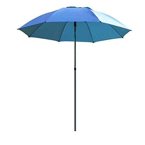 Black Stallion UB200 Core Flame-Resistant Industrial Umbrella, Blue