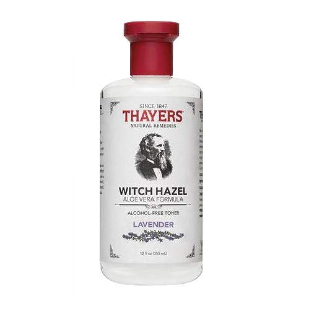 ソフトウェアふさわしい調整するThayer's: Witch Hazel with Aloe Vera, Lavender Toner 12 oz by Thayer's