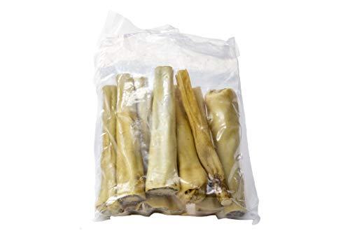 Express Pet Supplies 500 g (8 – 12 colas) 6 pulgadas de ternera Bull Cow Colas de vaca, hipoalergénico para perros masticar bajo olor como pizza.