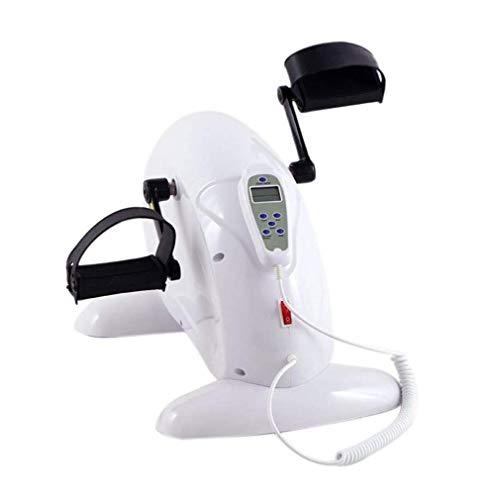 SISHUINIANHUA Elektronische Physiotherapie Rehab Trainingsgeräte Zyklus Arm Bein Pedal Exerciser Fahrrad Health Recovery Pedal Exerciser für Handicap, Behinderte und Schlaganfall