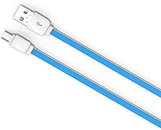 كابل USB للاندرويد من لدنيو xs07، بطول 1 متر، ازرق
