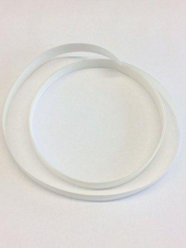 UHMW Gleitband 1,0lfm x 9,5mm, 280my, selbstklebend, Temperaturbeständig -35 bis 110°C, 3M Qualität