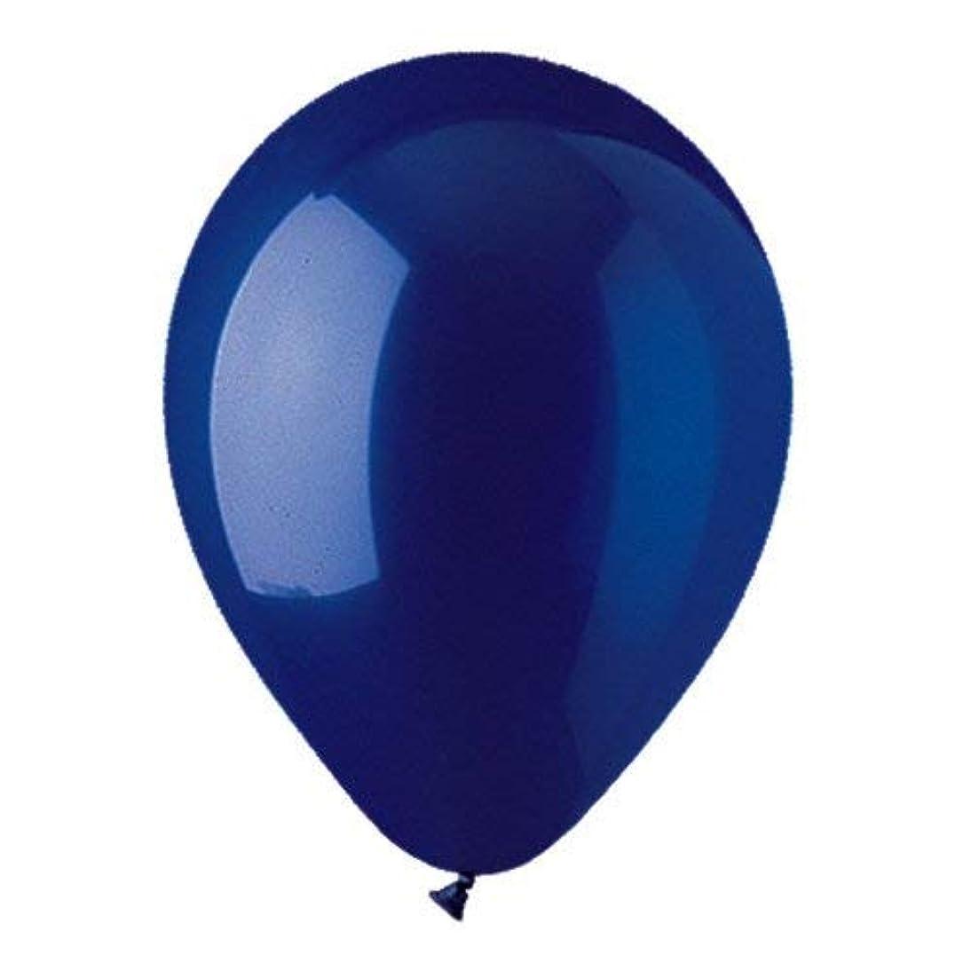 CTI Latex Balloons 912137 CRYSTAL NAVY BLUE, 12